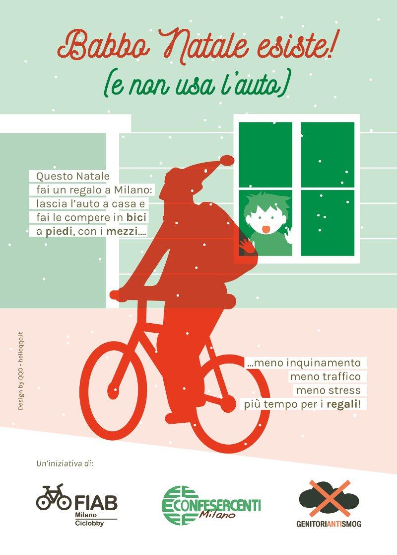 Esiste Babbo Natale Si O No.Babbo Natale Esiste E Non Usa L Auto